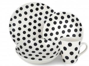 ... piatti, Helene ceramica 24,90 euro Klippan, divano a pois, Ikea 236,99
