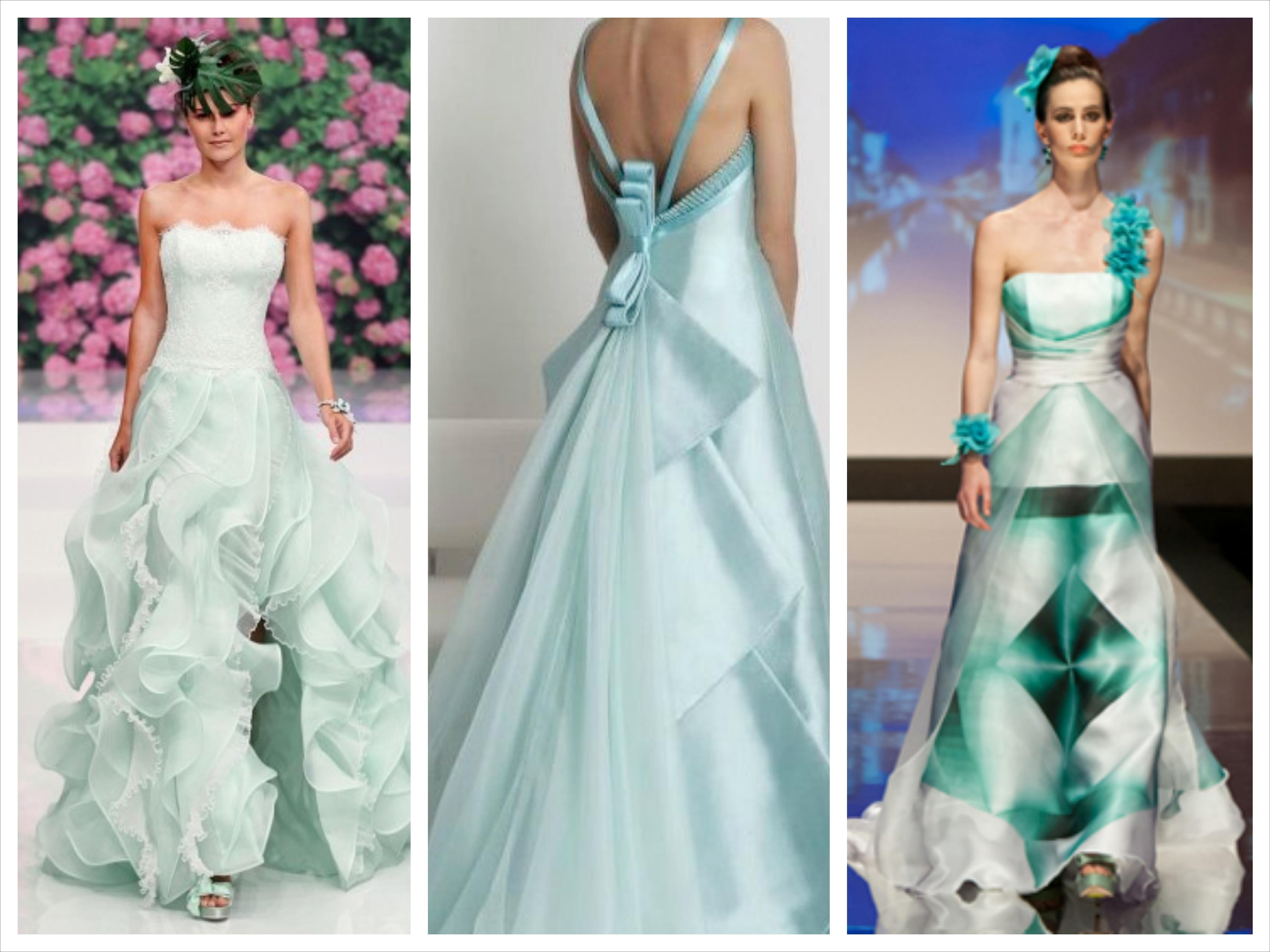 Matrimonio verde Tiffany - Bella Magazine