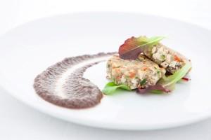 Hamburger Tofu Melanzane_NOVESSENTIA RESTAURANT