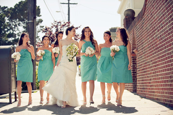 Matrimonio verde tiffany bella magazine for Wedding dresses with tiffany blue