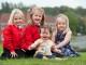 Heidi Wilson, Darcy Stephenson, Ruby Mae Stephenson, Daisy Elizabeth Wilson
