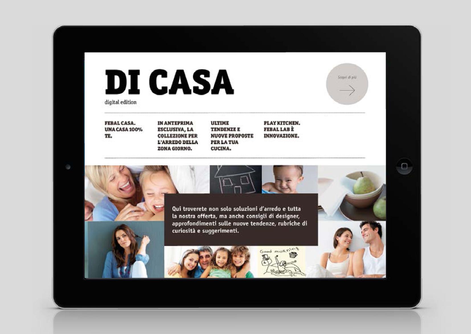 Febal presenta una app per il design della tua casa for Caratteristiche di design della casa