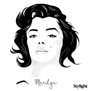 Iconic eyebrows Marilyn - Stylight