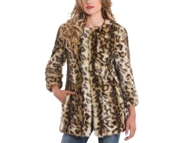 innovative design cd5af 0e8f5 pelliccia-ecologica-guess-cappotto-animalier - Copia - Bella ...